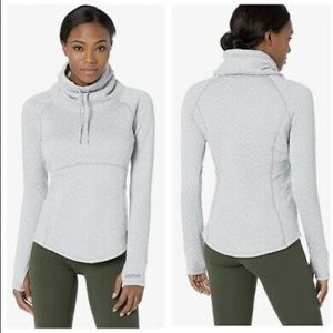 Marmot Annie Quilted Pullover Funnel Neck Sweater